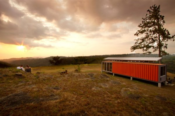 Containerwoning als buitenverblijf