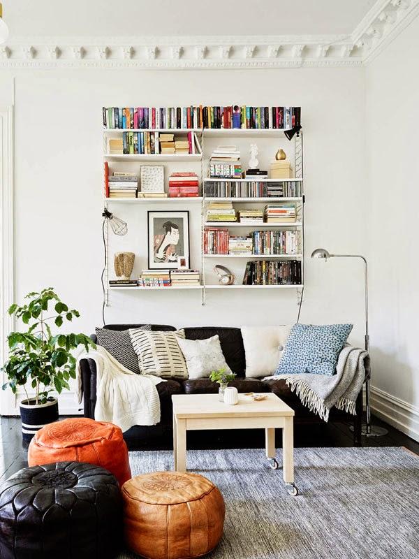 Geweldig Scandinavisch interieur met fijne details