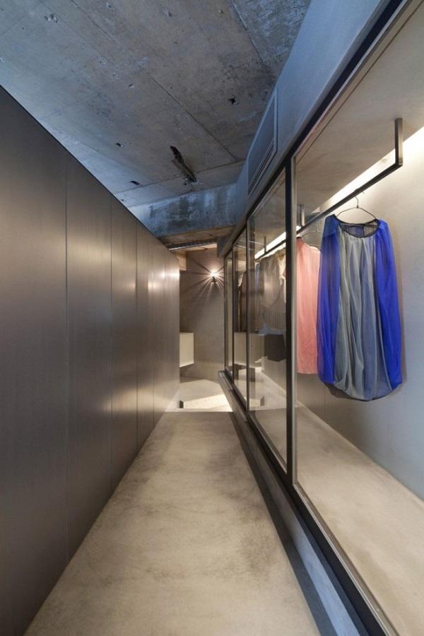 Japanse woning van beton