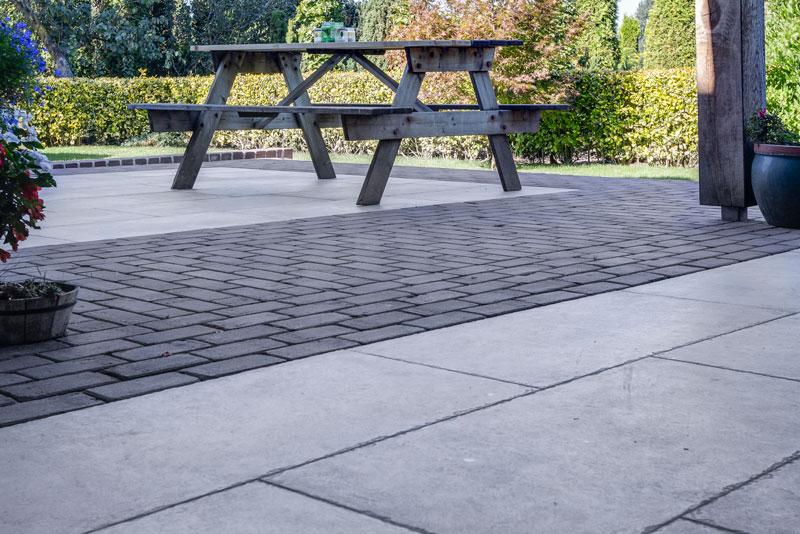 Keramische terrastegels 3cm