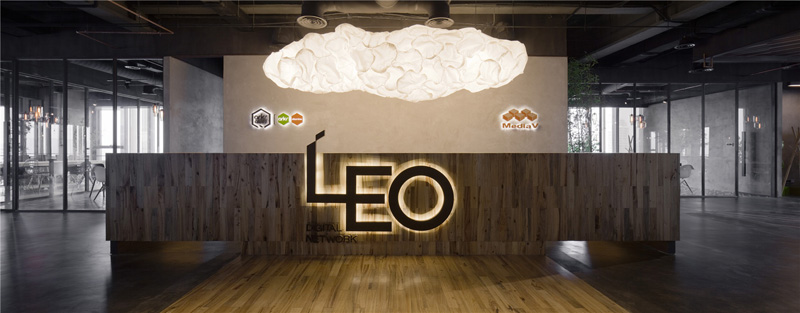 LEO-headquarters-in-Shanghai-reception-desk