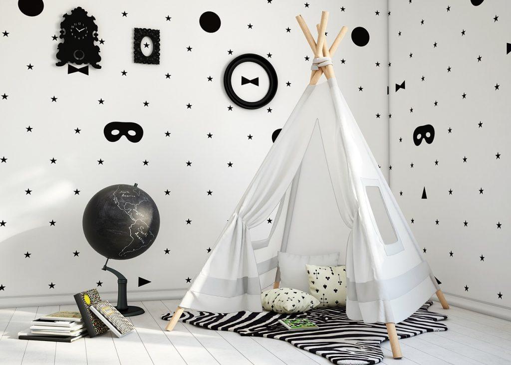 Tipi Tent Kinderkamer : Een tipi tent in de kinderkamer homease