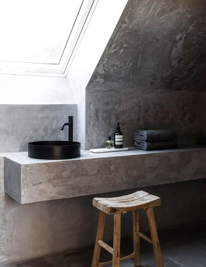 TypeO Loft betonstuc badkamer