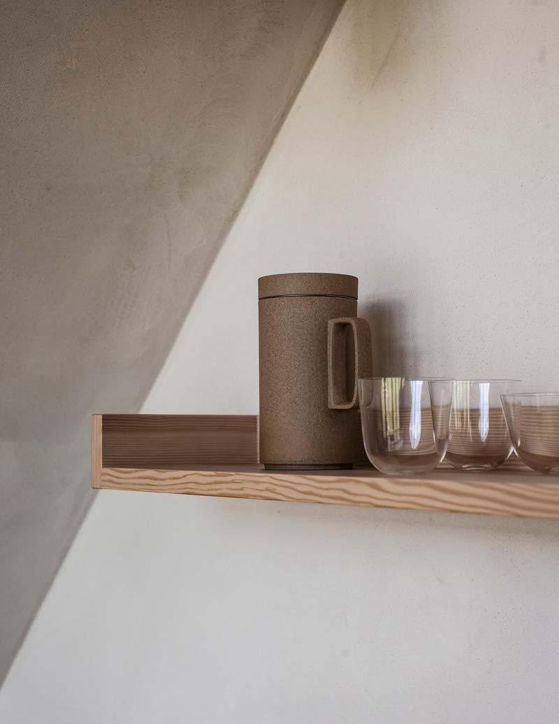 TypeO Loft wandplank betonlook muur