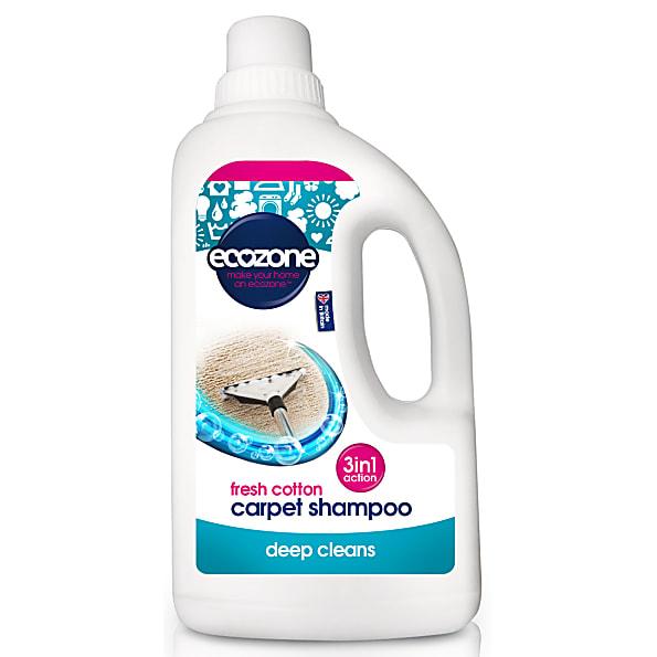 Ecozone Tapijt Shampoo - Fresh Cotton