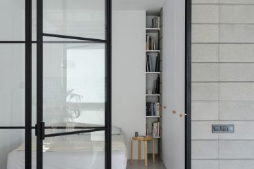 Architect Emil Dervish heeft dit kleine appartement van 45m2 opnieuw ingericht!