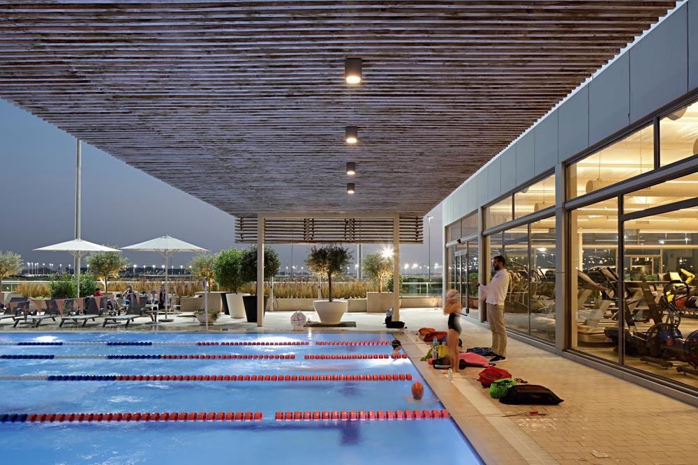 Architectenbureau Alhumaidhi heeft deze mooie sportschool ontworpen!