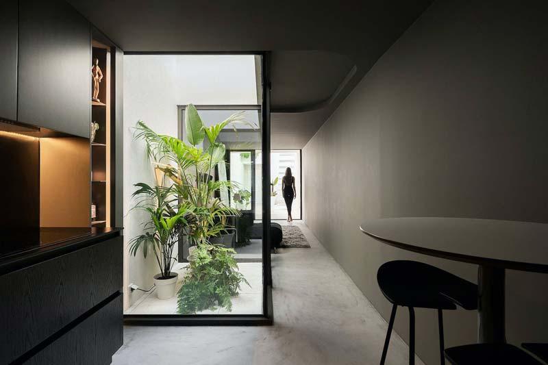atrium in huis