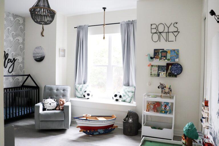 babykamer inspiratie voor een jongens tweeling