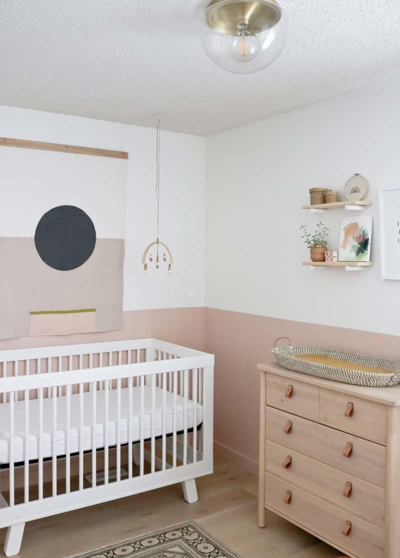 babykamer inspiratie wandkleed