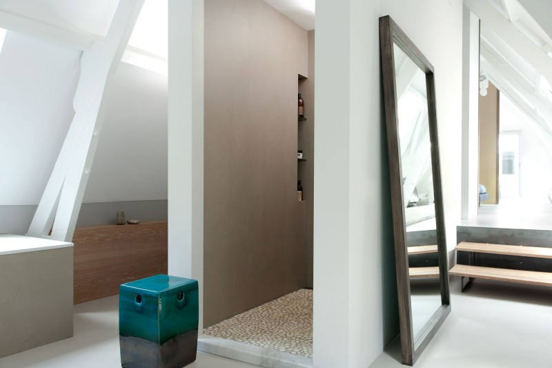 Simpel Pure Badkamer : Badkamer van grachtenpand in utrecht door remy meijers homease