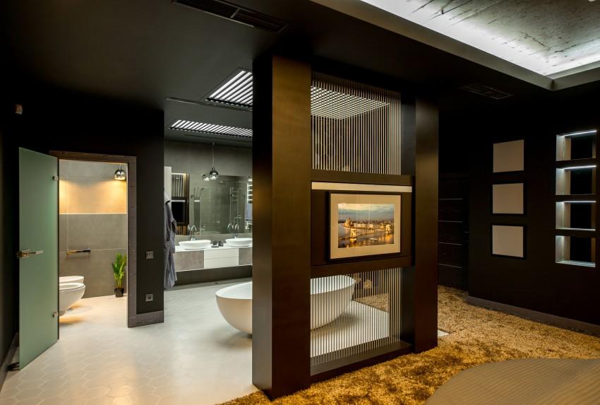 Badkamer Met Slaapkamer : Badkamer met toilet slaapkamer met dubbelbed picture of glen