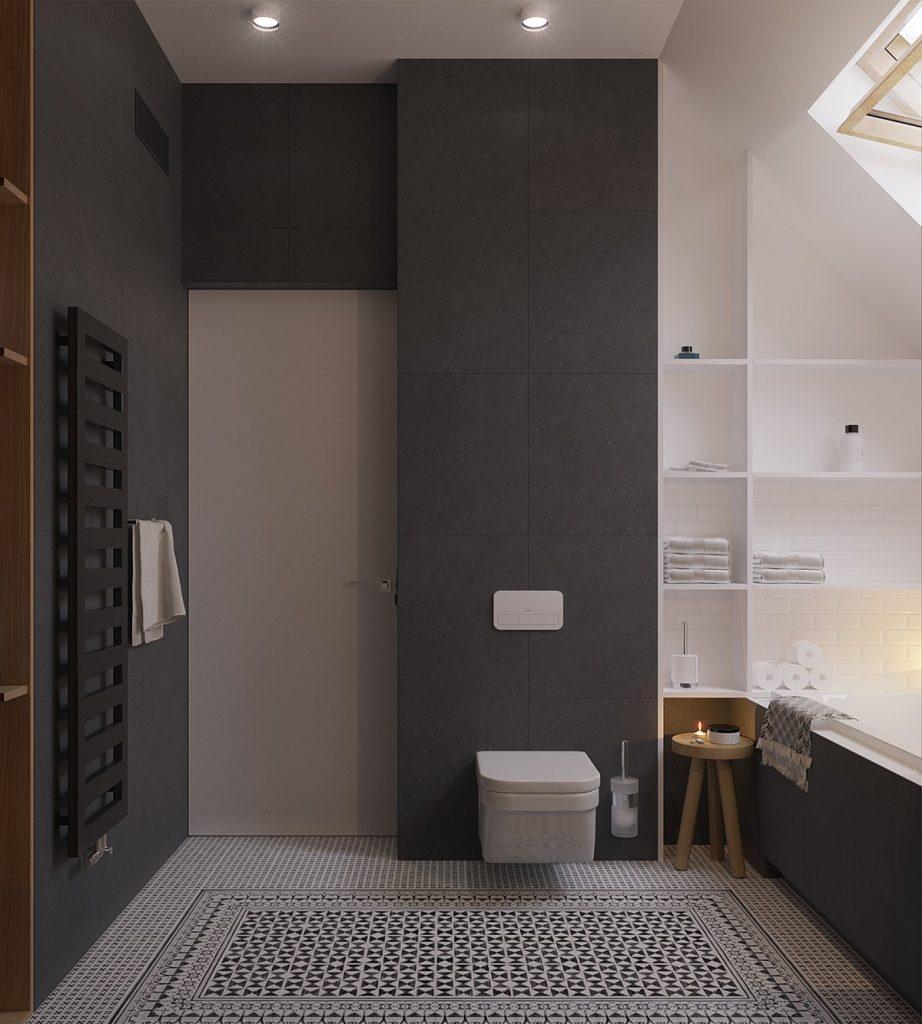 badkamer tegel mix