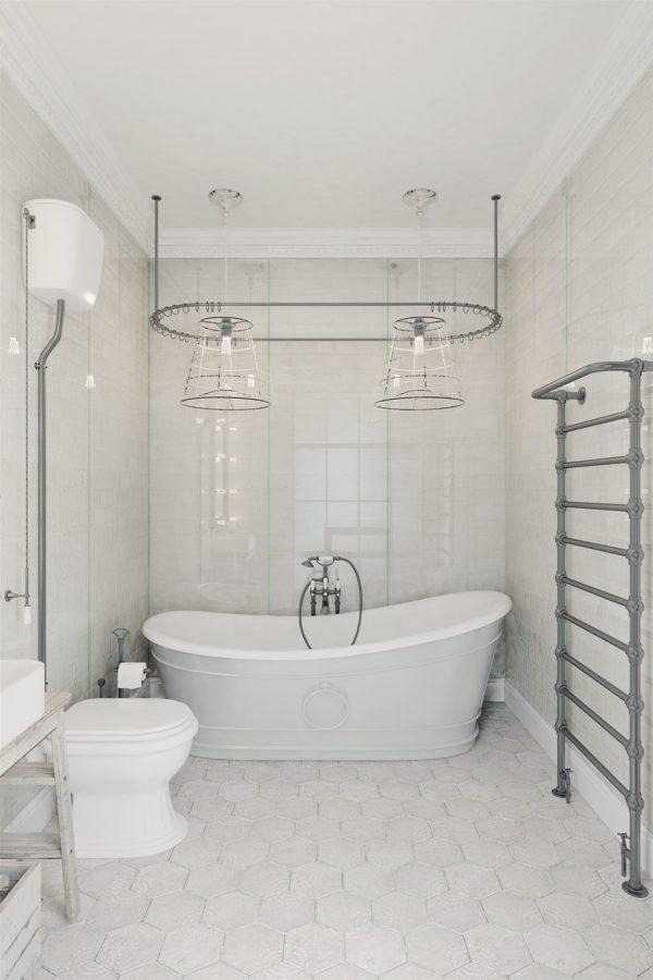 Badkamer vrijstaand bad