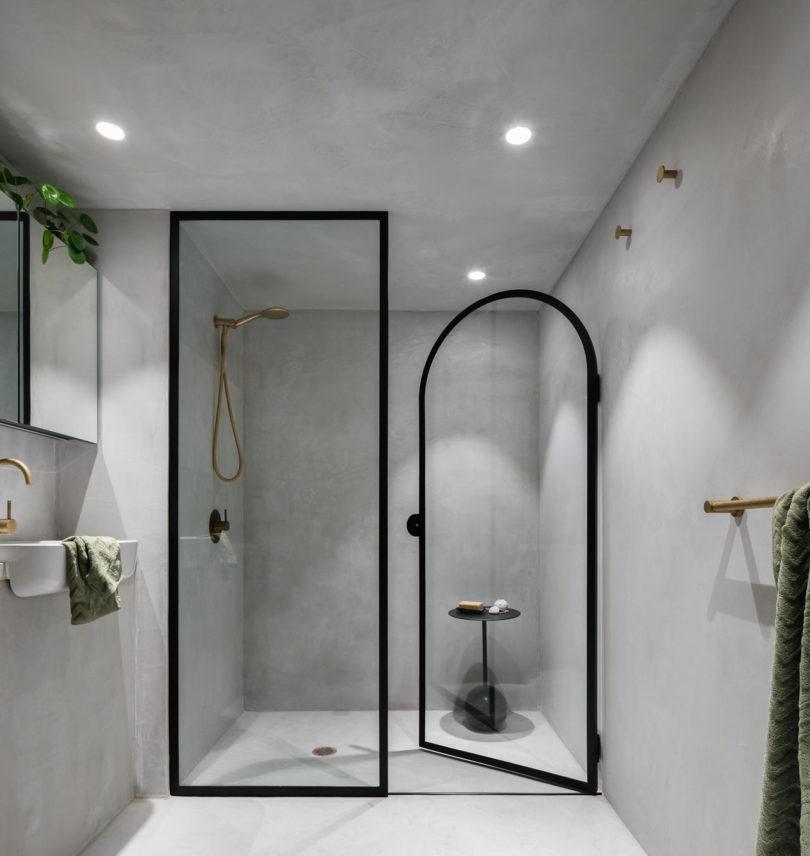 badkamertrends 2020 betonstuc