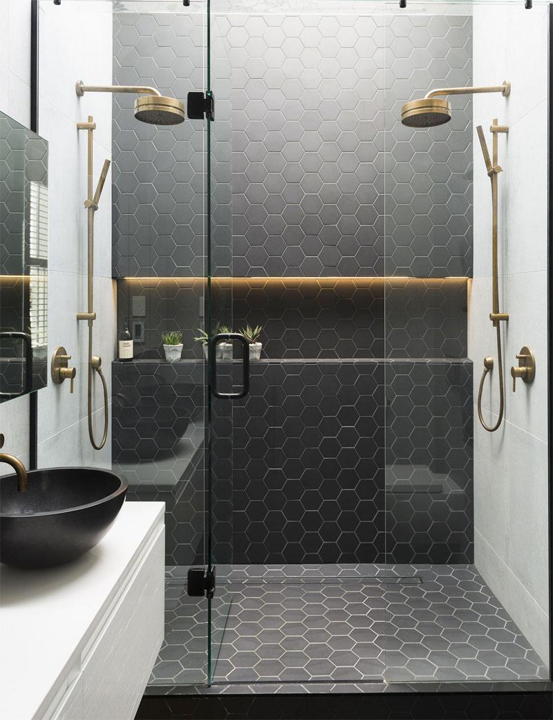 badkamertrends 2020 hexagon tegels