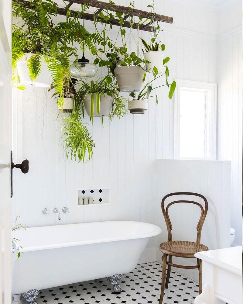 badkamertrends 2020 planten