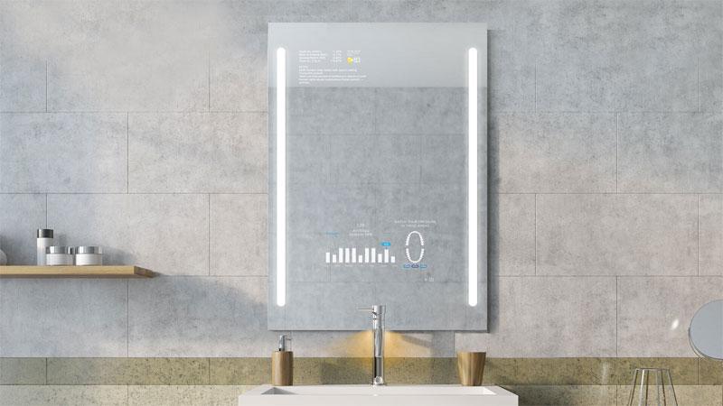 badkamertrends 2020 smart badkamerspiegel