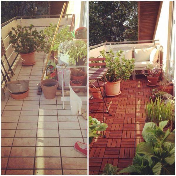 Balkon metamorfose