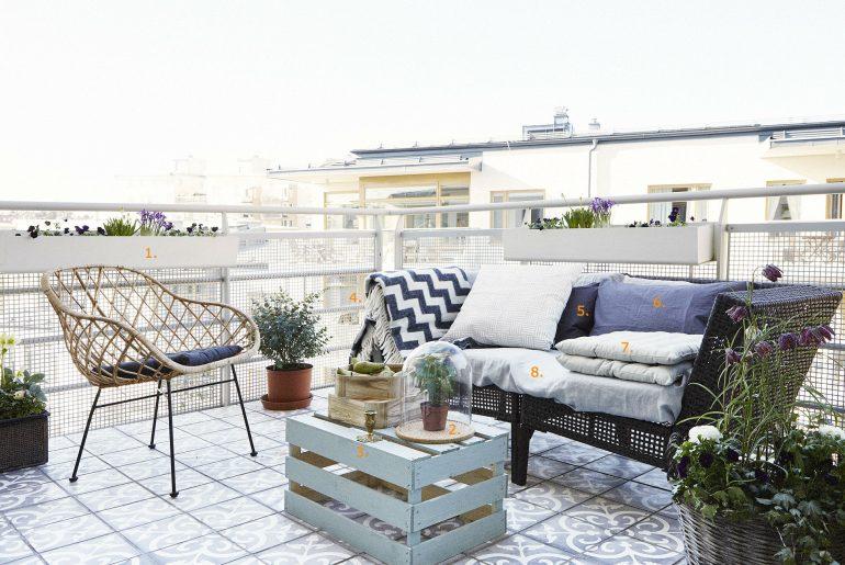 Balkon tegels inspiratie