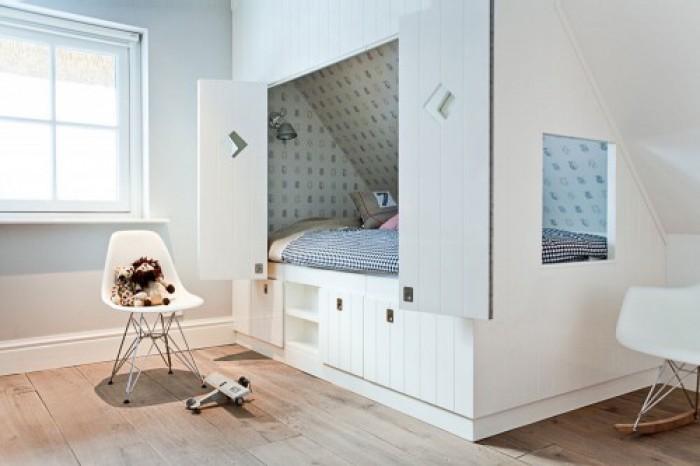 Bedstee inspiratie voor de kinderkamer homease - Decoratie zolder ...