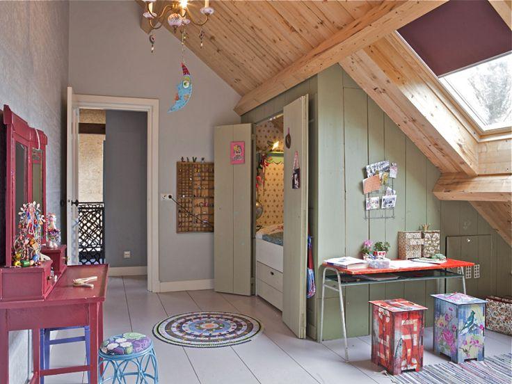 Bedstee inspiratie voor de kinderkamer homease - Stapelbed kleine kamer ...