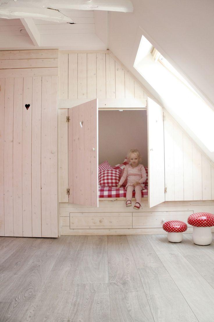 Bedstee inspiratie voor de kinderkamer homease - Gordijnen voor de kinderkamer ...