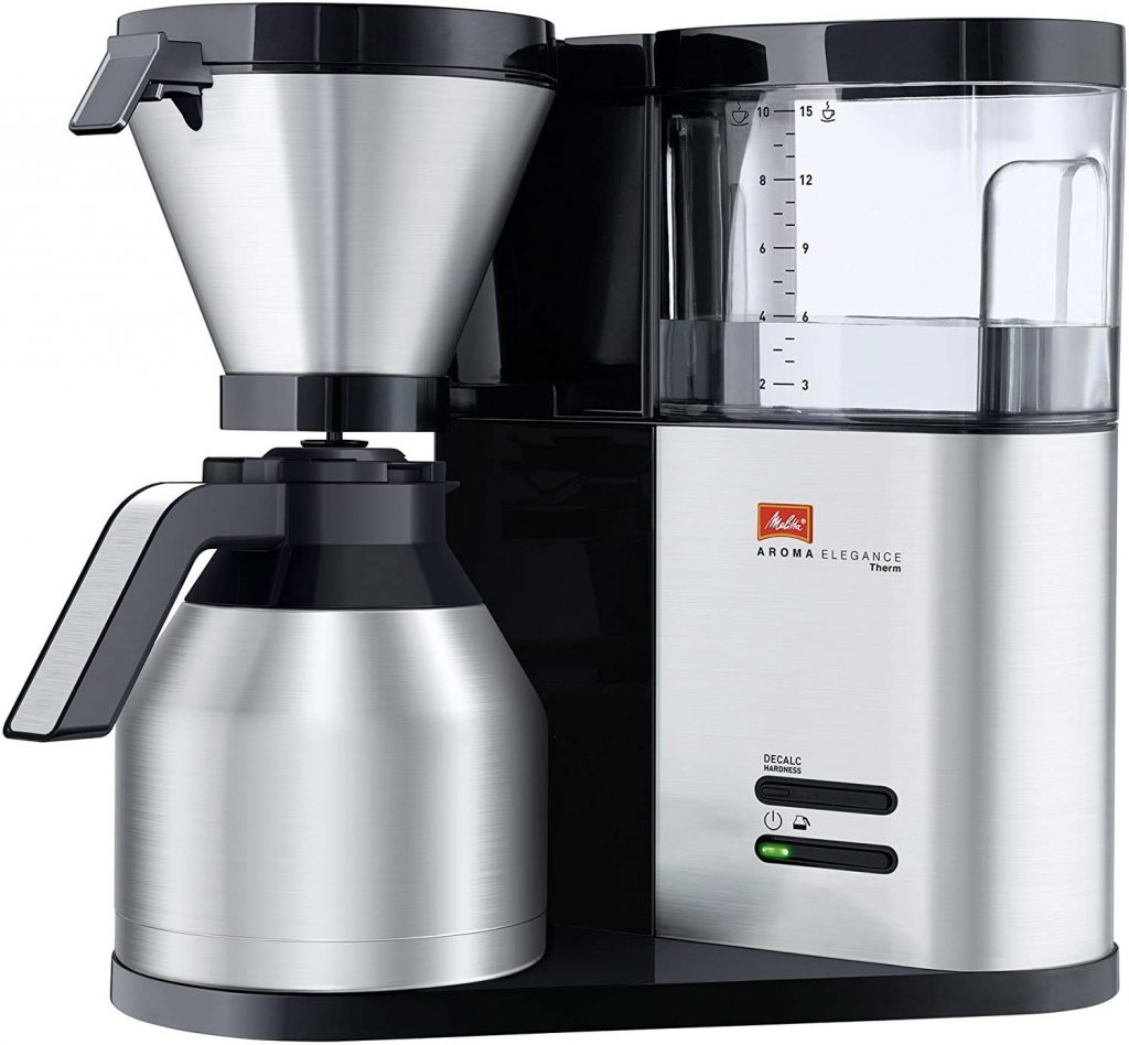 Beste koffiemachine thuis Melitta Aroma Elegance Therm Deluxe