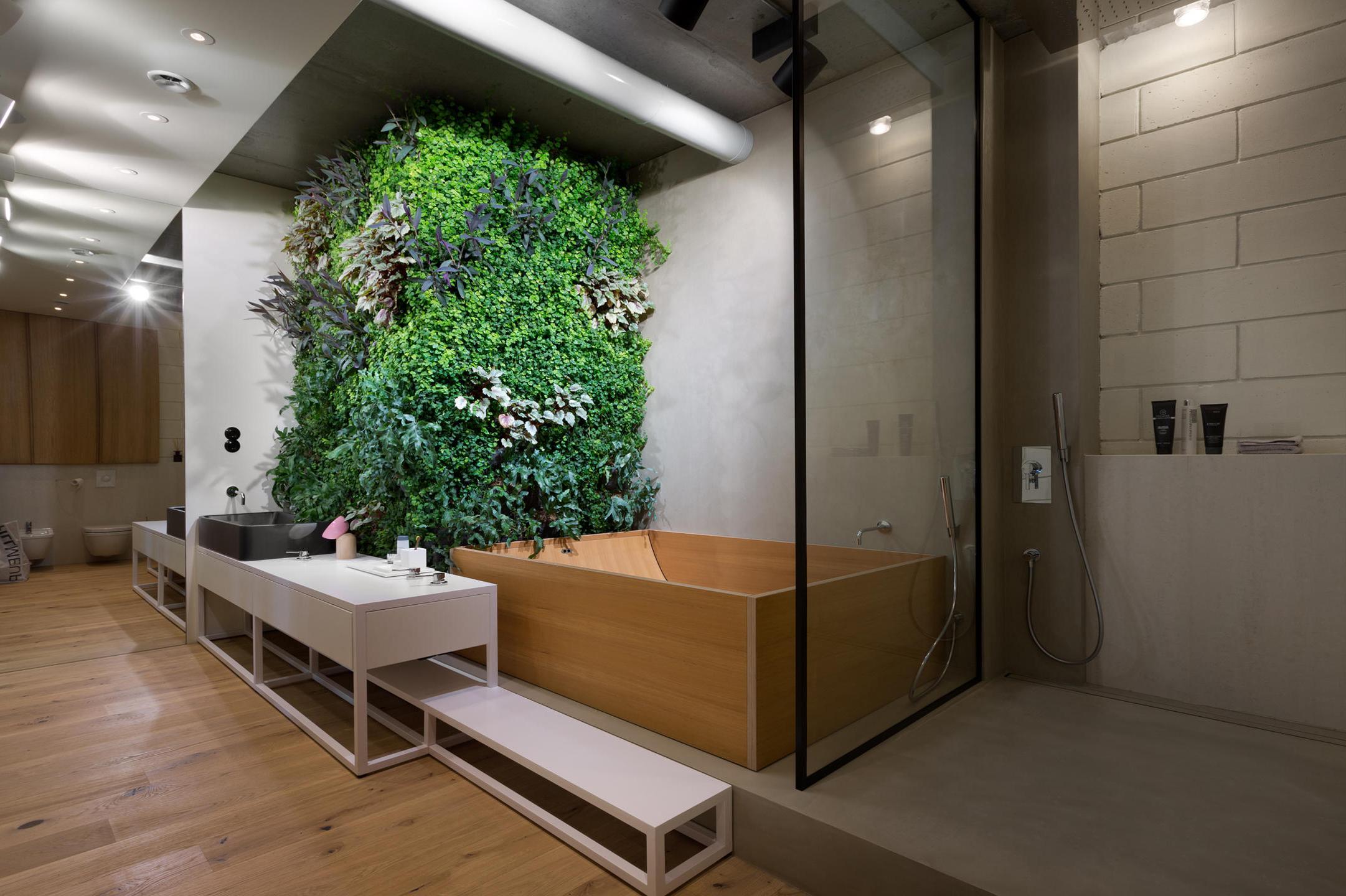 Handige Indeling Badkamer : Bijzondere loft badkamer homease