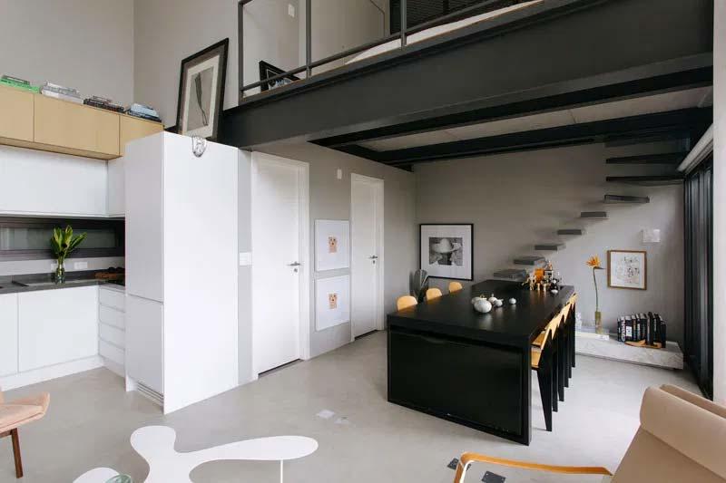 binnenkijken appartement architect nildo jose mezzanine