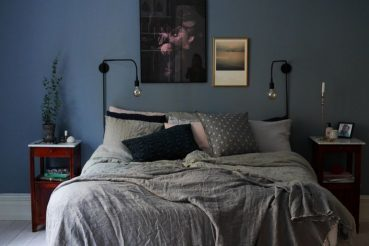 Blauw in interieur