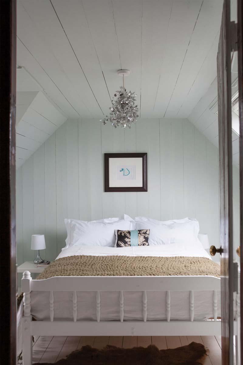 Blauwe muur Farrow & Ball - Cabbage White No.269
