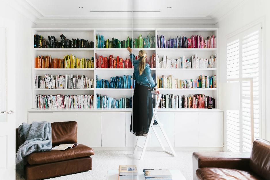 Boeken sorteren op kleur