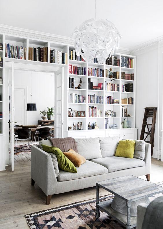 15x Boekenkast in de woonkamer   HOMEASE