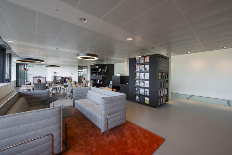 Bolidt kantoor interieur