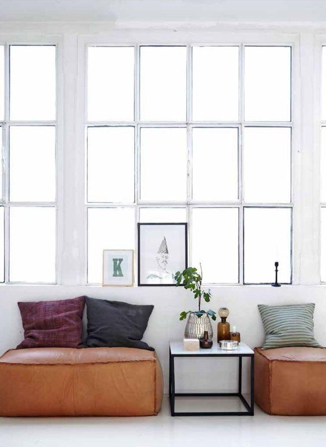 10x Bruin leer in het interieur | HOMEASE