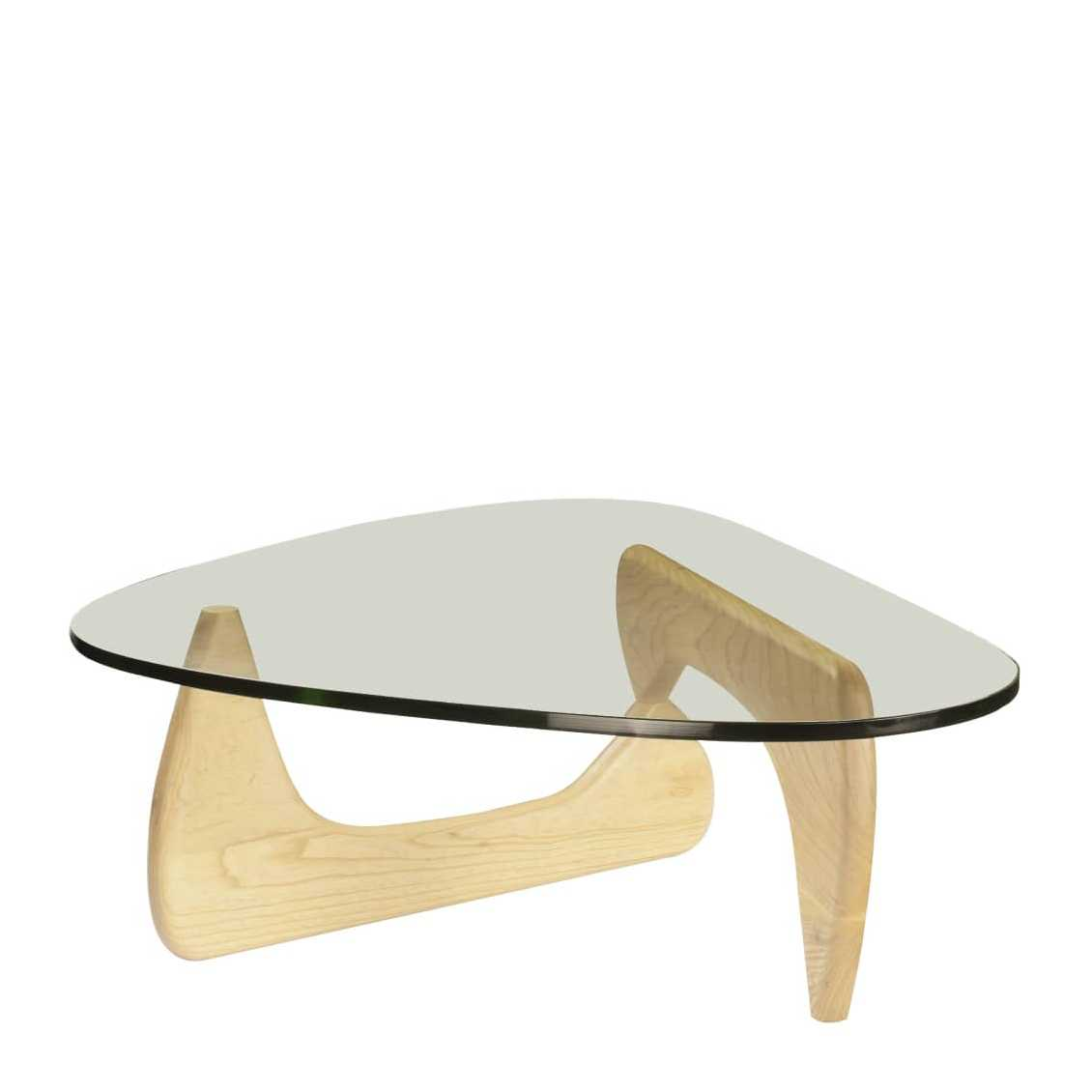 Vitra Coffee Table glazen salontafel