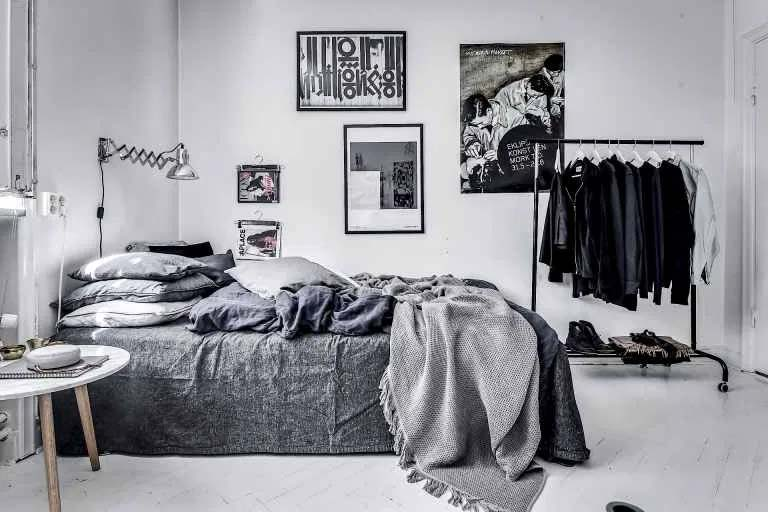collage lijsten slaapkamer