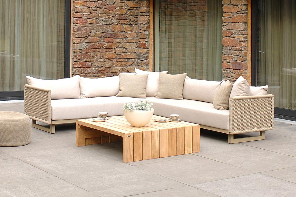 Comfortabele loungesets met strakke designs