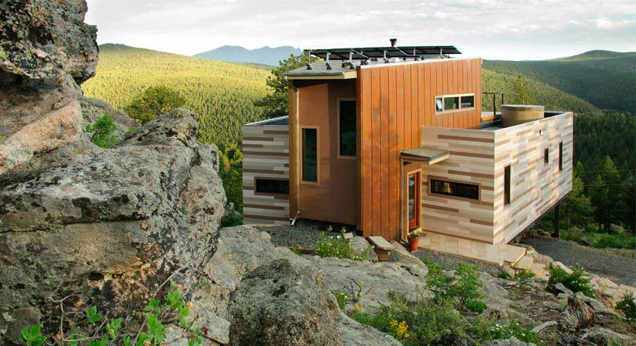 Containerwoning van 46m2 in Colorado