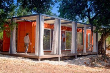 Containerwoning Nomand living guesthouse