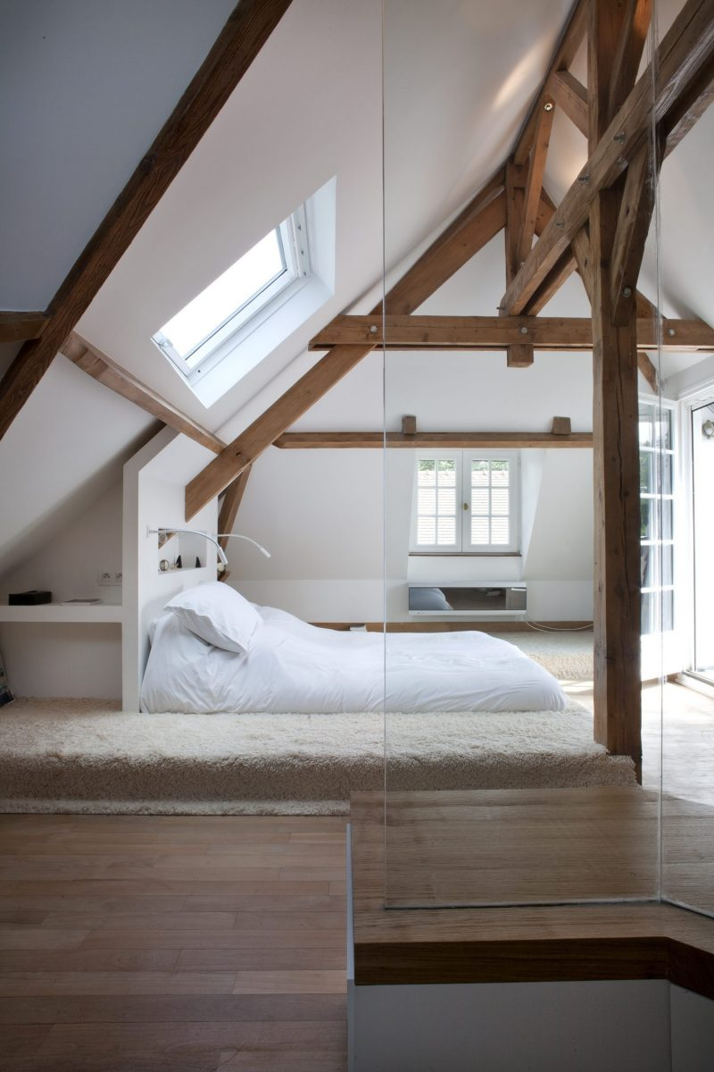 dakraam zolder slaapkamer