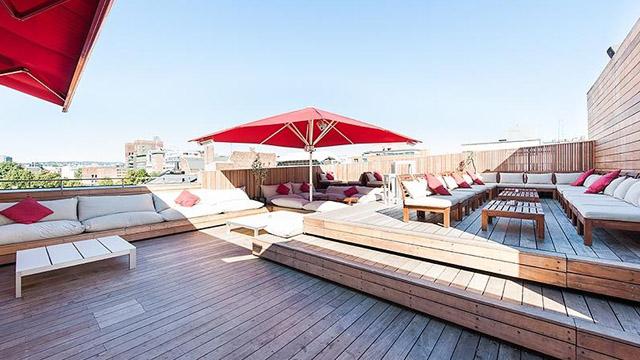 Dakterras bar Q Lounge in Oslo