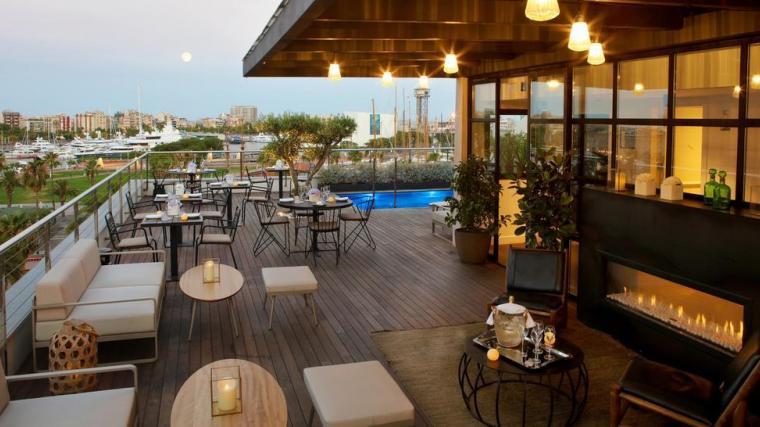 Dakterras The Serras Hotel in Barcelona
