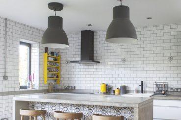 De stoere keuken van ontwerper Kelly