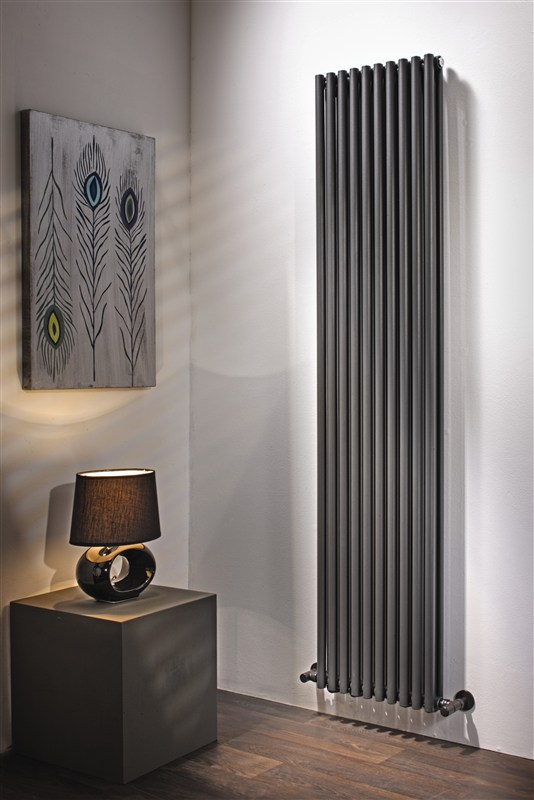 Designradiator woonkamer