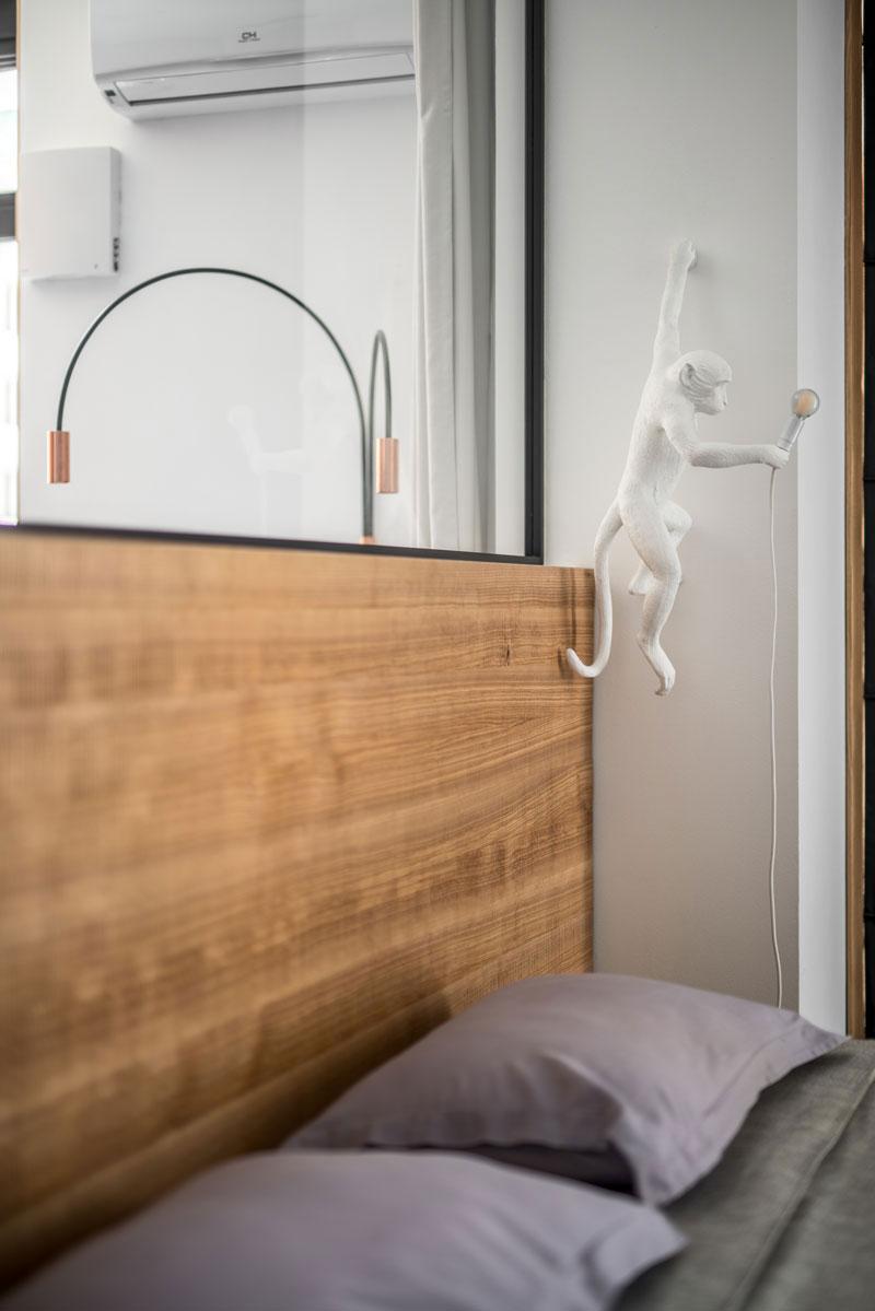 Deze moderne slaapkamer heeft het allemaal!