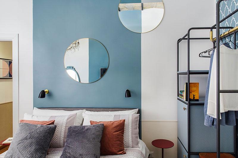 Deze slaapkamer is ingericht als de kamer van een luxe boutique hotel!