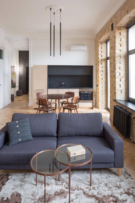 Dit kleine appartement heeft door een 'simpele' toevoeging gegroeid van 47m2 naar 60m2!