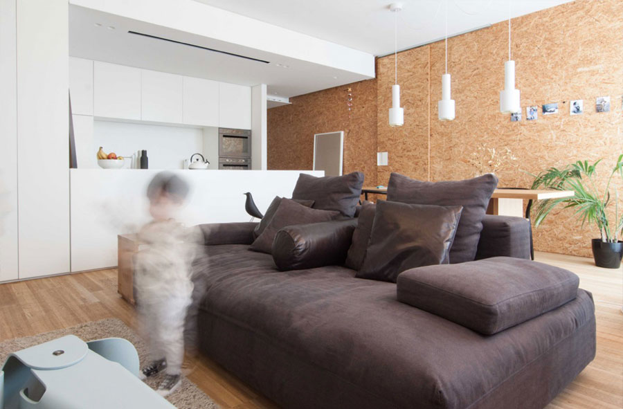 Dit moderne appartement is erg leuk, speels en praktisch ingericht